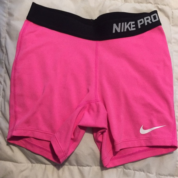 Nike Other - Nike pro hot pink shorts